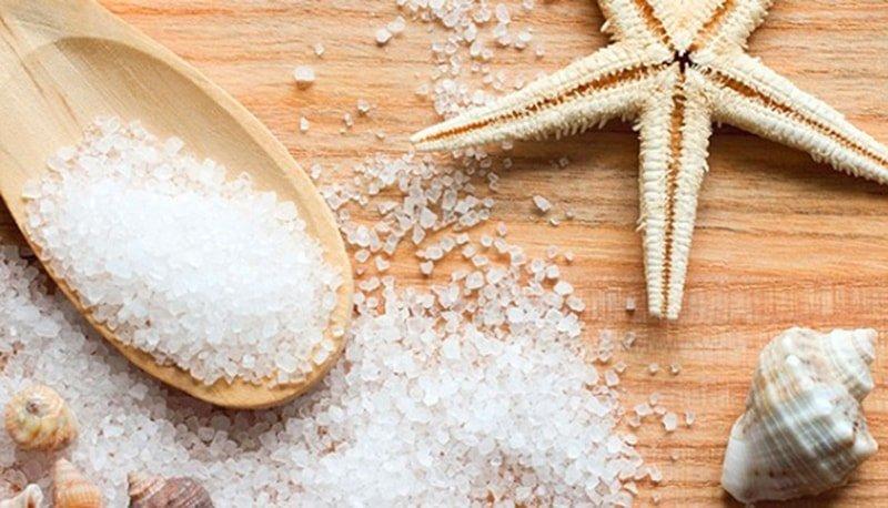 Морская соль от прыщей на попе