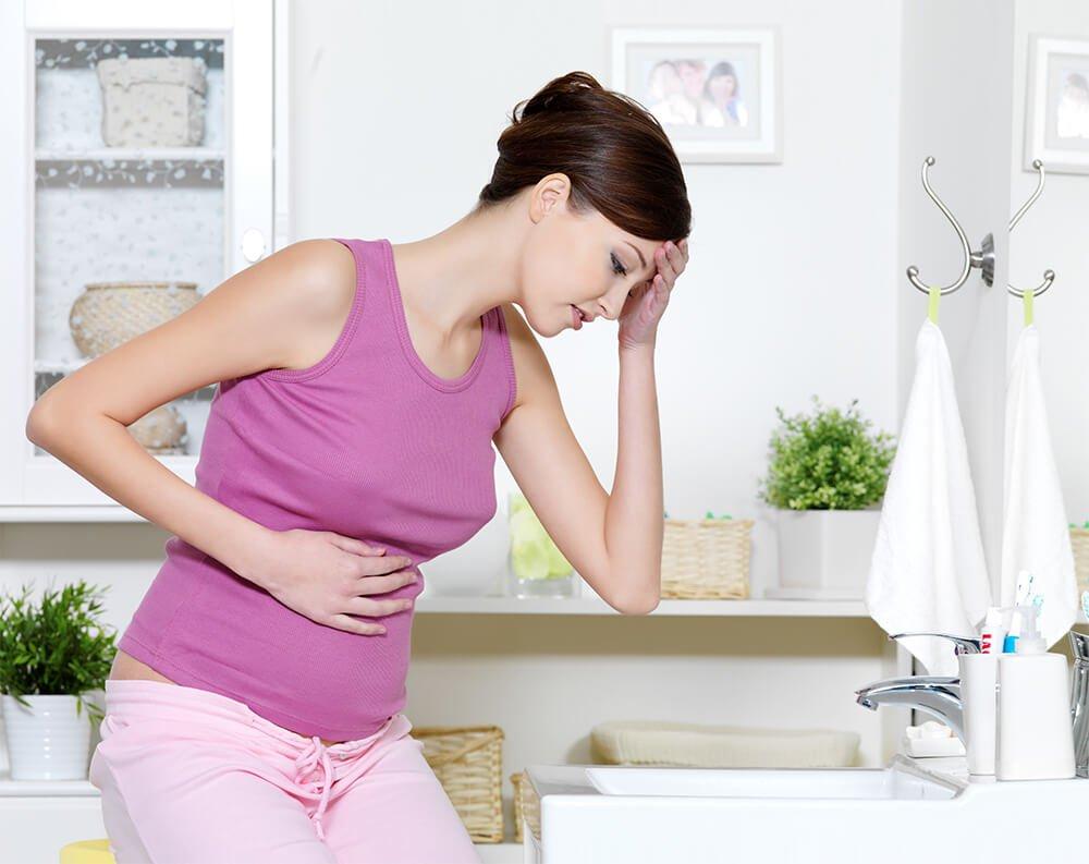 Признаки прерывающейся беременности