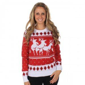Модели свитеров с оленями