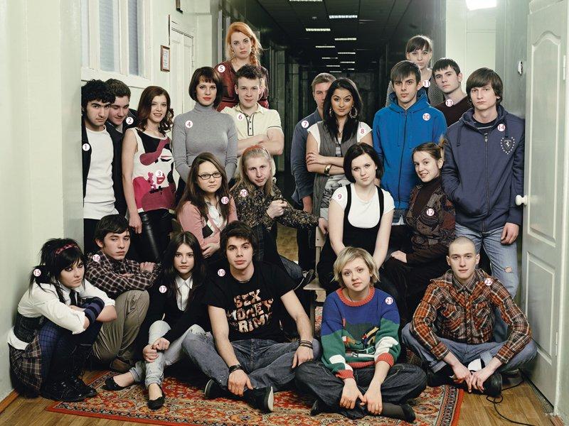 Жизнь подростков в сериалах