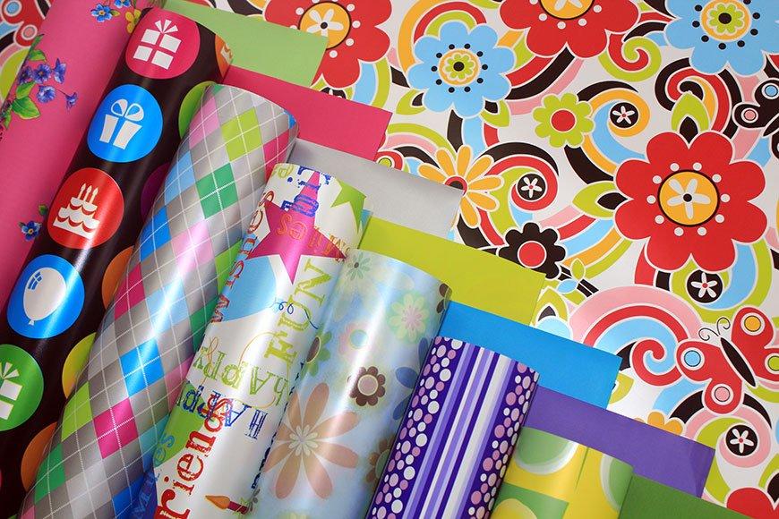 Какие материалы используют для упаковки подарков?