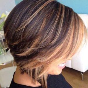 Балаяж на разную длину волос