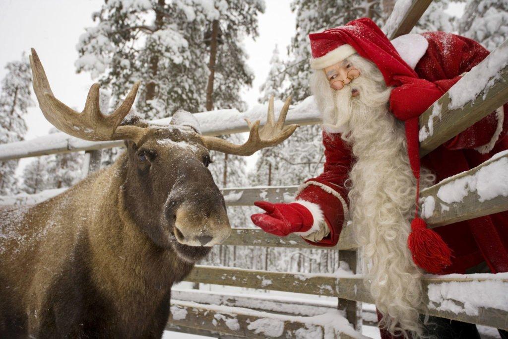 Где живет Санта Клаус – родственник Деда Мороза