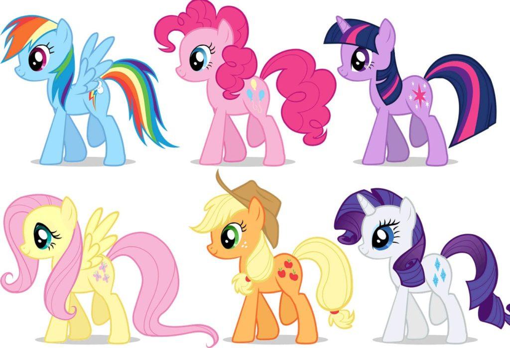 Нарисовать пони