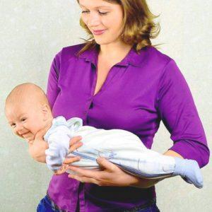 Способы помочь малышу укрепить мышцы шеи