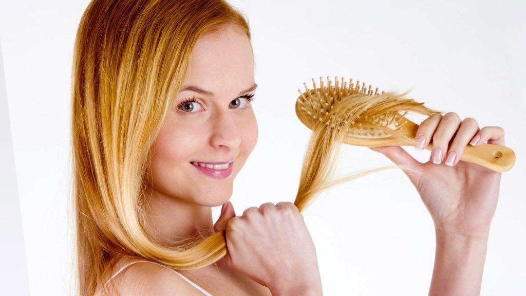 Маски от выпадения волос на голове