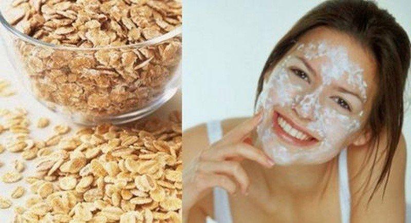 Польза овсянки для кожи лица