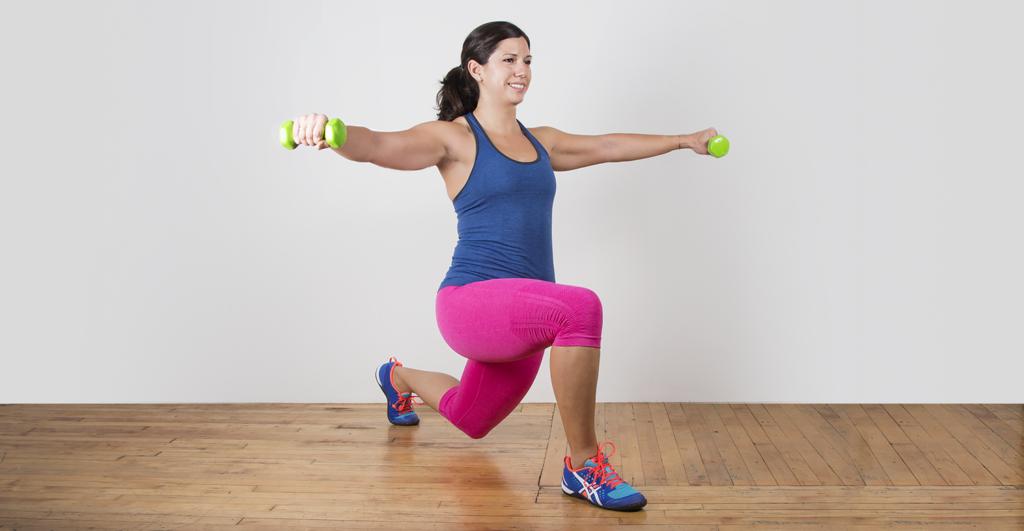 Упражнения дял спины