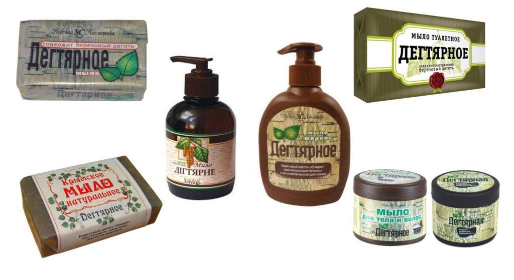 Польза и применение дегтярного мыла