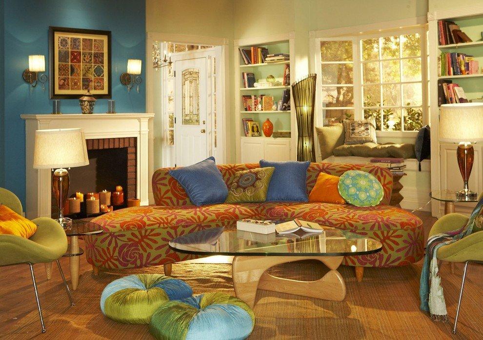 5 основных трендов для гостиной в современном стиле