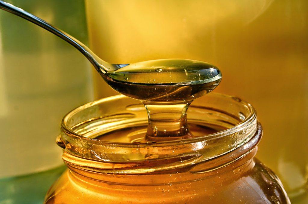 Мед на вязкость