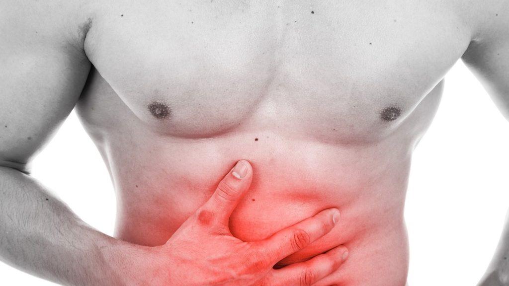 Rumbling in the abdomen and diarrhea