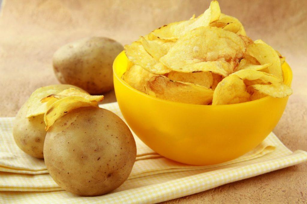 Польза и вред картофельных чипсов