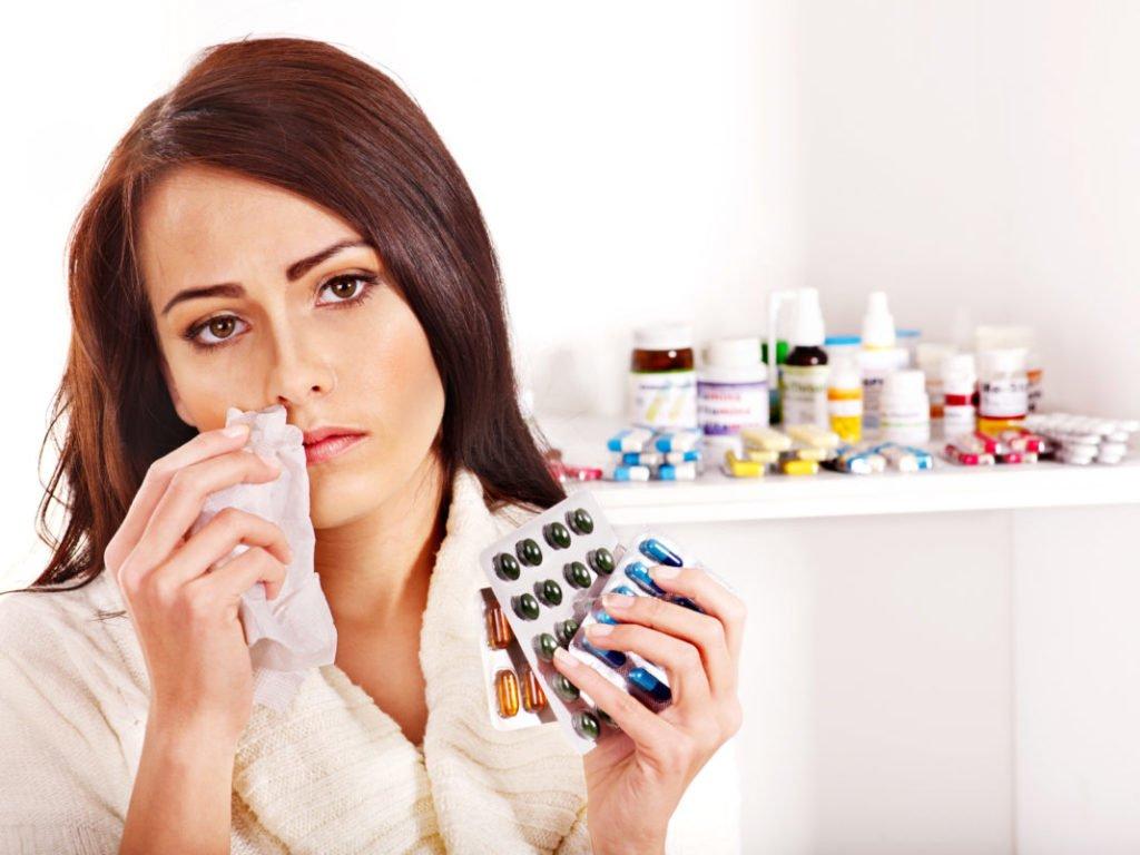 Когда назначают антибиотики?