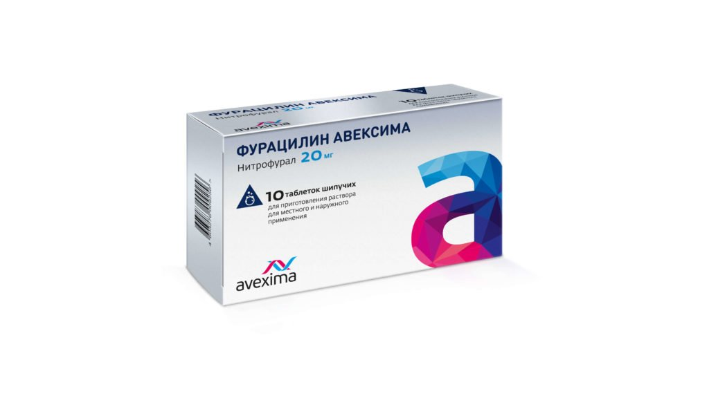 Лечение горла фурацилином - Миндалина