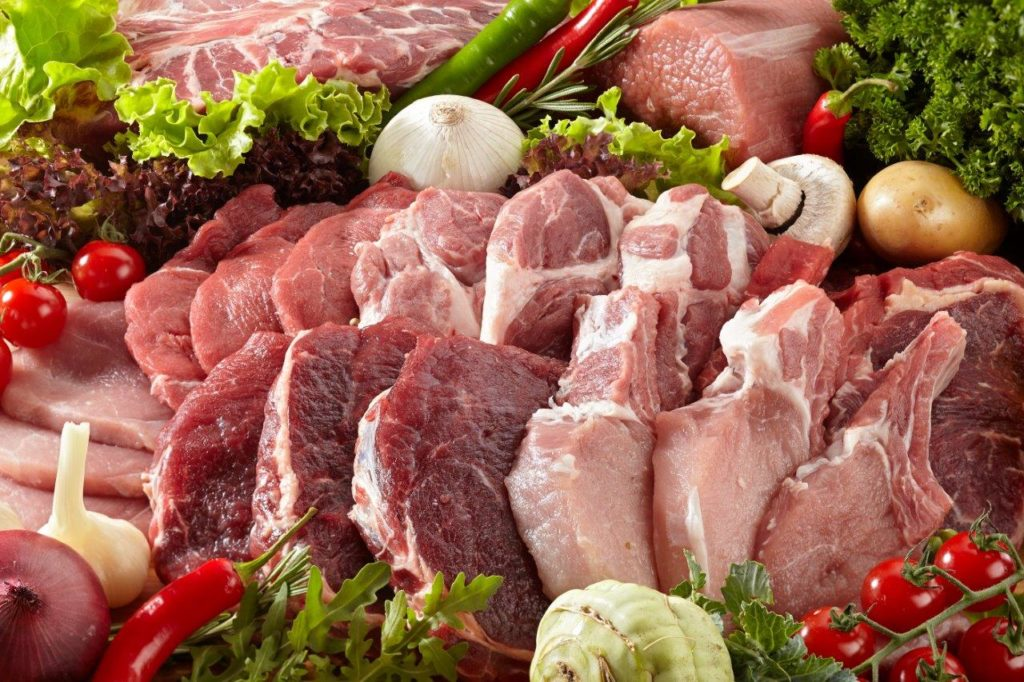Zinc in meat products