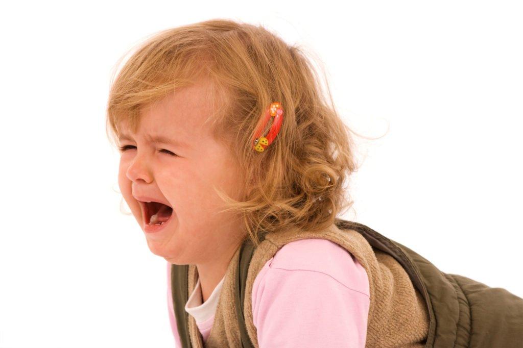 Видеть плачущего ребёнка