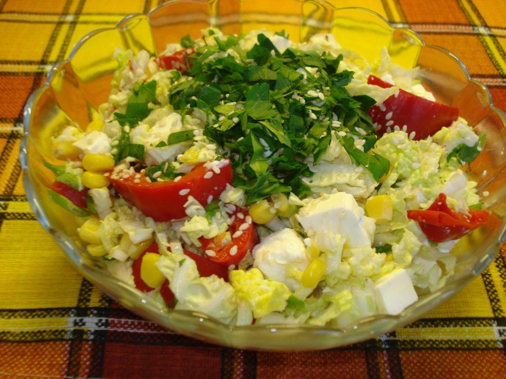 С помидорами и сыром
