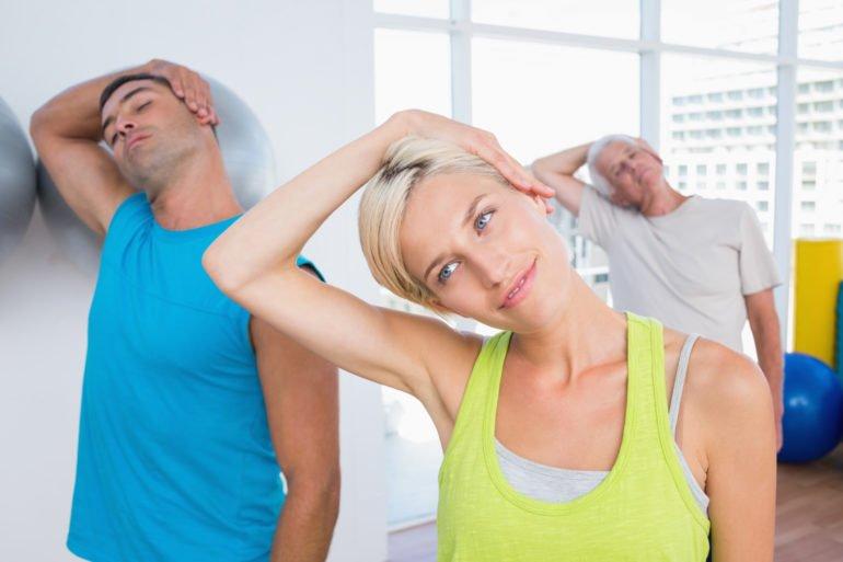 Физические упражнения для шеи