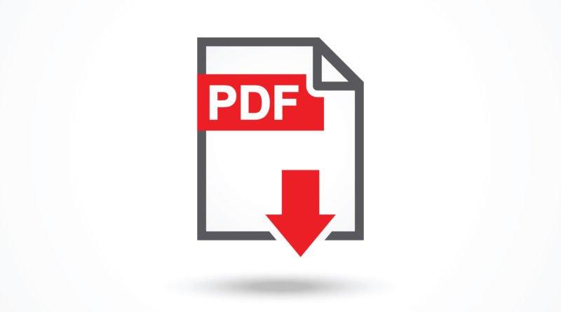 Документ ПДФ