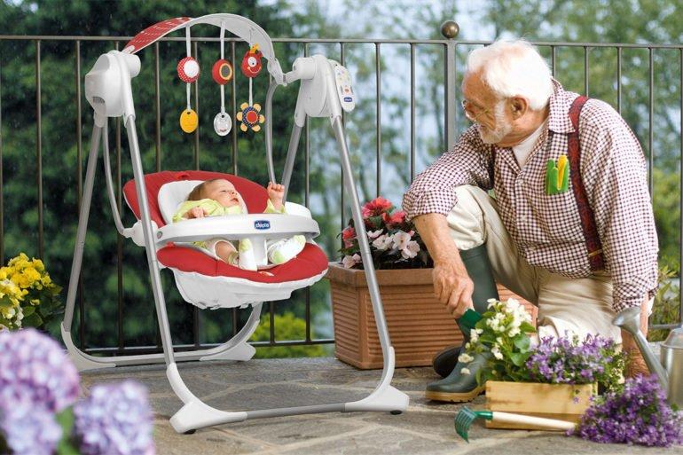 Модели шезлонга для малышей