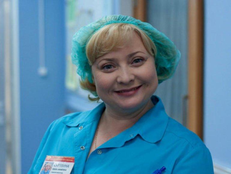 Медсестра Люба в сериале «Интерны»