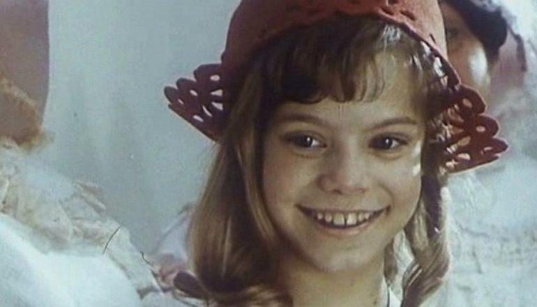 Детство будущей актрисы