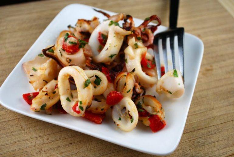 Самые вкусные блюда из морепродукта