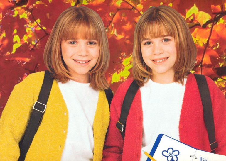 Раннее детство сестёр
