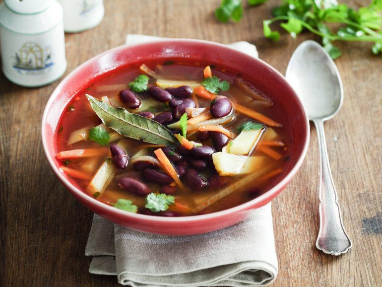 Самые вкусные рецепты супа с фасолью
