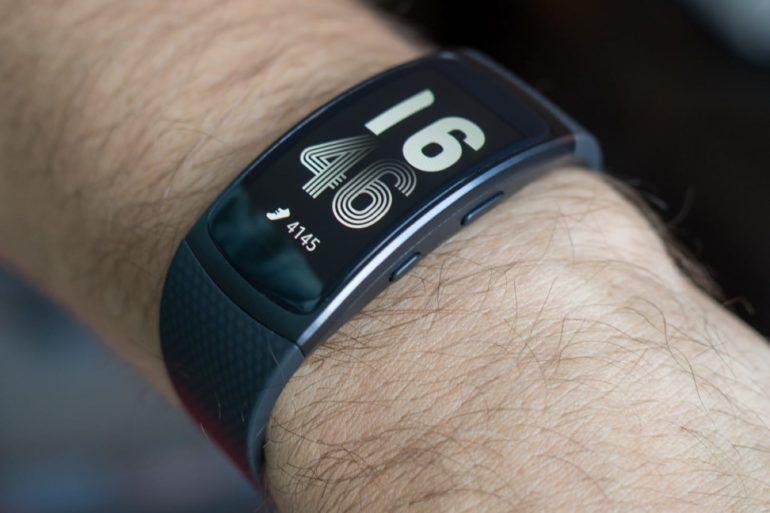 Features fitness bracelets