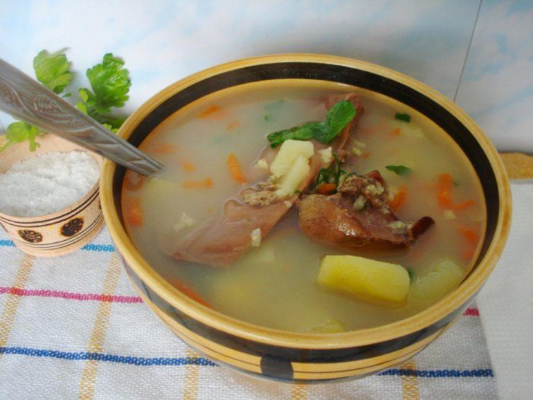 Блюда из гуся