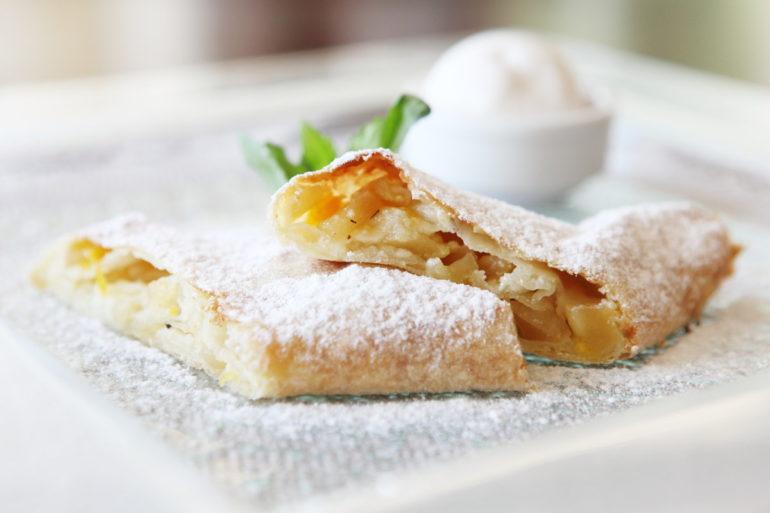 Самые вкусные рецепты штруделя с яблоками