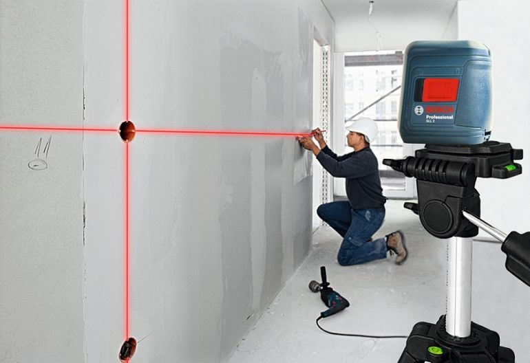 What is a laser level?