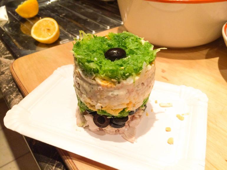 Вкусные салаты с черносливом