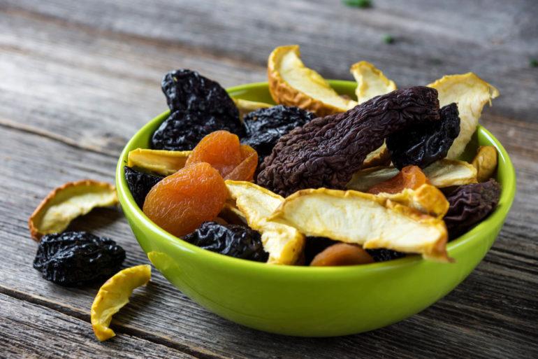 Как выбрать хорошие сушёные фрукты?