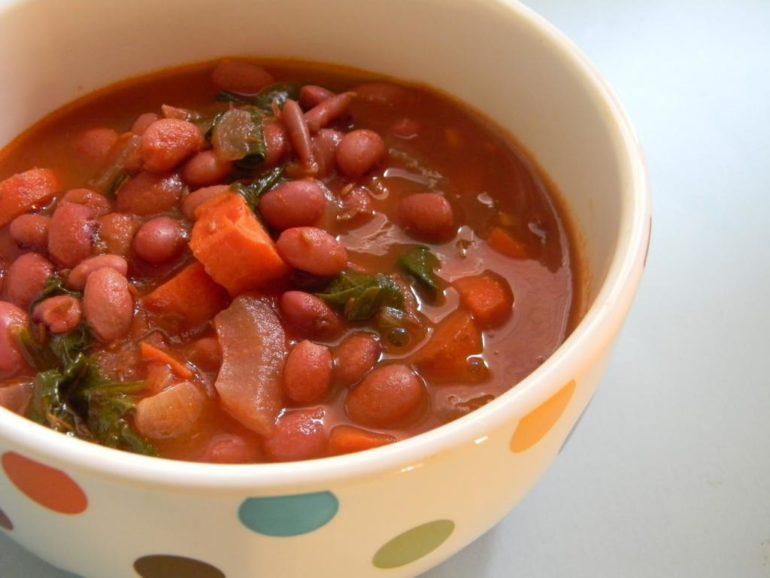 Суп с фасолью – сытное и вкусное блюдо
