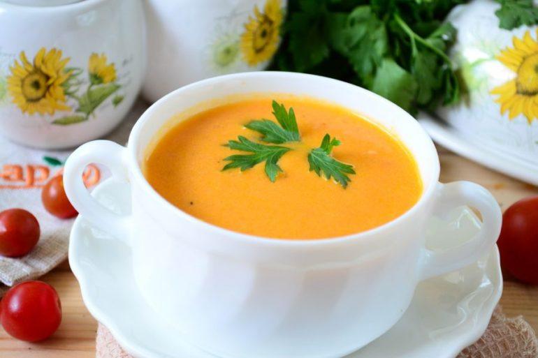 Вкусные рецепты томатного супа