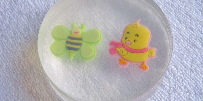 Приготовление детского мыла