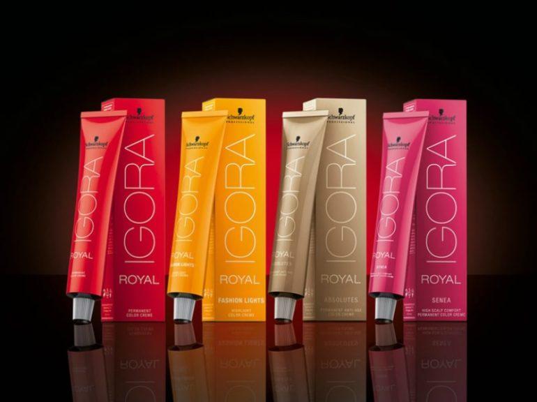 Популярные средства для покраски волос