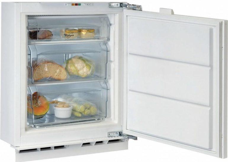 Типы морозильных камер