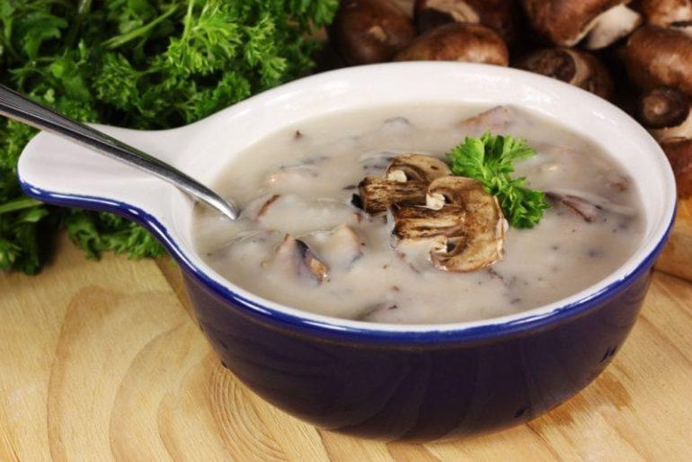 Вкусные рецепты грибного супа