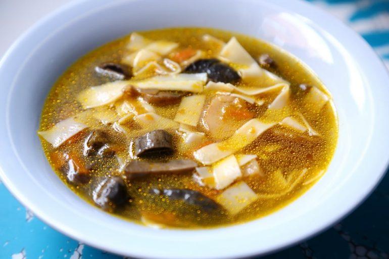 Варианты грибного супа