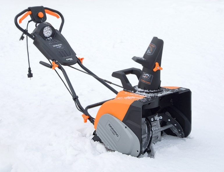 Модели снегоуборщиков