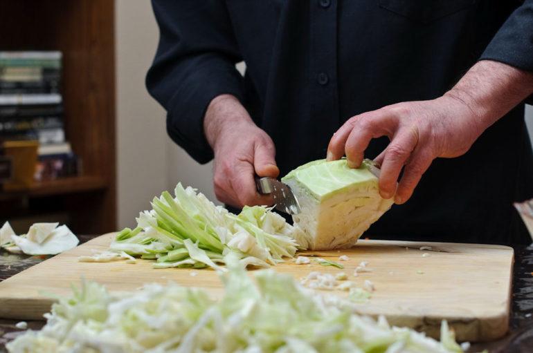 Приготовление капустных котлет