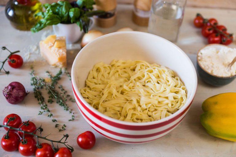 Классический рецепт домашней лапши