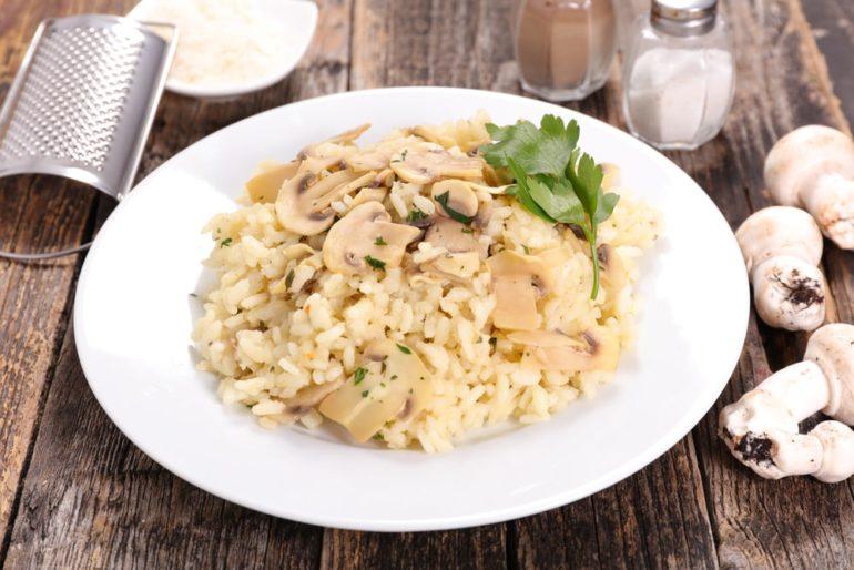 Ризотто – блюдо итальянской кухни