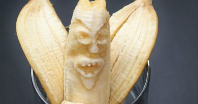Вред бананов