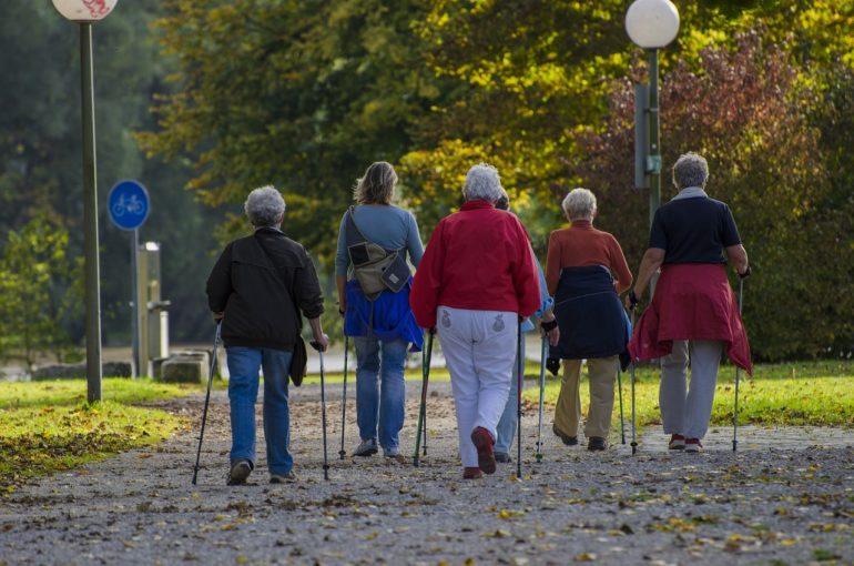Ходьба для пенсионеров