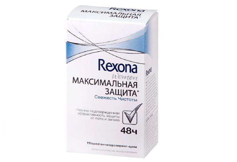 Дезодорант крем Rexona Максимальная защита Сухость и комфорт
